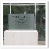 2007年6月26日 エリザベス女王を迎えて開場しました。きれいな記念碑でした。