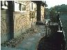 宅内の通路(天然石をアクセントポイントに)