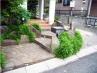 階段に「和」の石貼り施工