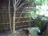 竹穂を使用した垣根