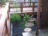 デッキ側の坪庭
