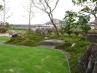 リビングから眺める主庭