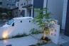 モダンスタイル外構(4台駐車のあるアプローチ) 施工