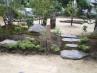 自然石や六方石といった純和風の素材を用いています。