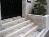 和風エクステリア 玄関・門袖階段