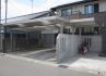 カーポート。屋根を少し伸ばして自転車置き場の屋根に。 施工例2