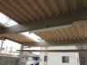 屋根には、明り取りのポリカ折板2列。 施工例4