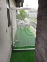 人工芝生で、ゴルフの練習場所。 施工例5