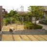 自然素材をフルに活用及び再活用した庭造り。