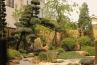 奥行きある敷地を生かした枯山水の庭