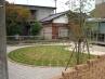 石貼りと芝生の洋風ガーデン工事 施工例3