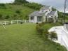 外構  土留めブロックを使わない芝生法面仕上げプラン