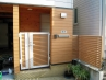 メンテナンスフリーの木樹脂素材を使用したリフォーム工事