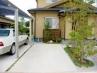 ■駐車場奥の植栽スペースに竹垣 施工例3