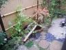1戸建て住宅  お庭(造園)工事  施工例
