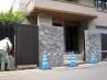 石をモチーフにした高級外構工事  施工現場4