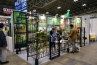 中国のPANYA METAL PRODUCTS。アイアン製ガーデンファニチャーのメーカーです。海外のバイヤー、メーカーも多数出展していました。