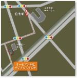 バス亭からの地図