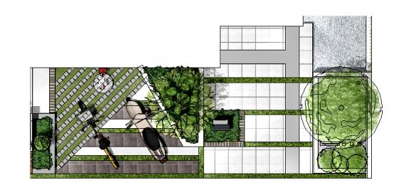 クラウド連動型エクステリア造園設計CAD「バージョン10」OPT 積算ソフト【 e-Put /イープット 】積算平面図 / / / / / /