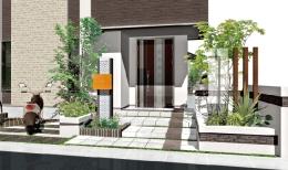 クラウド連動型エクステリア造園設計CAD「バージョン10」作例