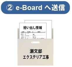 外構・造園・リフォーム業のためのグループウエア&業務管理・電子カンバン「e-Board/イーボード」物件箱