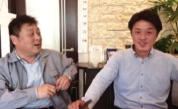 塩谷社長と正木さん