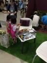 テーブルサイズのバーベキュー炉はお子様にも人気。