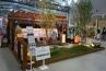 仙台の福寿園緑化建設は、木製パーゴラとデッキから眺める芝庭をモデルガーデンに。