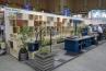 株式会社 共立 Teriorブランドのブースは、ちょっとしたショールームの様。棚を効果的に使ってあります。 / /