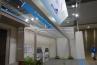 シンプルなフラット屋根デザインのカーポートシリーズ エフルージュに梁延長仕様が登場。最大10mまで対応。写真はエフルージュツインの水下梁延長仕様。これは重宝しそうです。