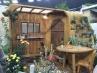 歩んだ跡には花が咲く kochiさんの作品。奨励賞。 これ小屋が木材を削り出して丸みを帯させてるんですね。労作。 / / / /