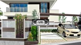 採光とプライバシーを両立した外構プラン VR動画
