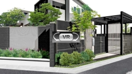 門周り VR動画