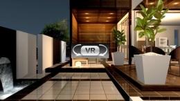 テラス夜景 VR動画
