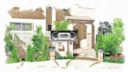 ここをクリック:プロヴァンス風スタイルのオープンエクステリア:VR動画