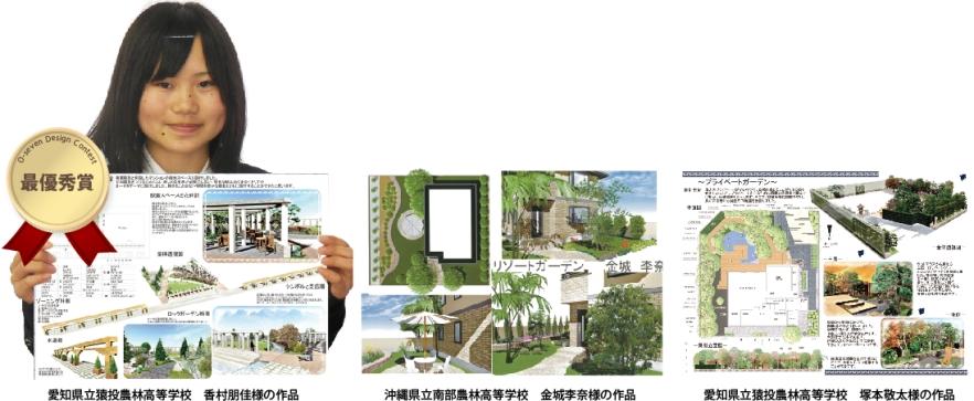 オーセブン・デザイン・コンテスト受賞作品