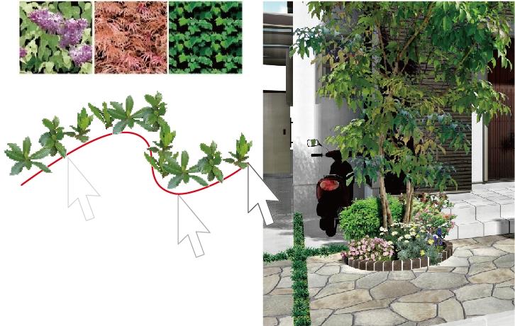 実物の樹木の表現に近づく「ノズルレタッチ」