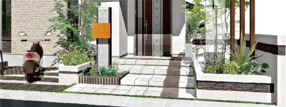 電子カンバン【e-Board】・外構造園設計3DCAD「オーセブンCAD」・積算ソフト「e-Put」/連携強化仕様