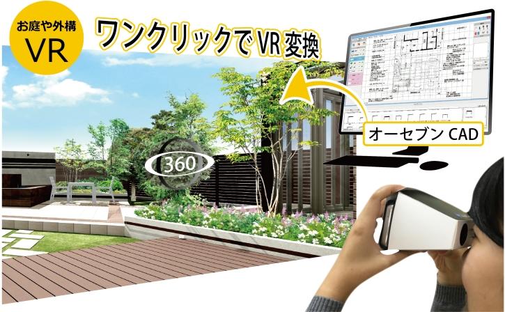 お庭や外構のリフォームプレゼンに活用できます