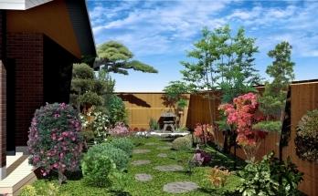 オーセブン・デザイン・コンテスト入選作品「和風の庭」