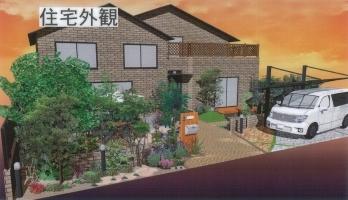 オーセブン・デザイン・コンテスト入選作品「洋風・THE・ガーデン」