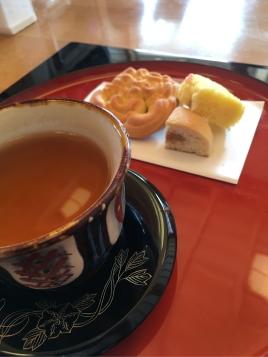 さんぴん茶と琉球菓子