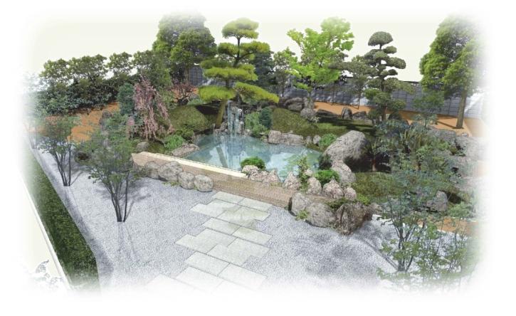 八幡神社境内改修工事