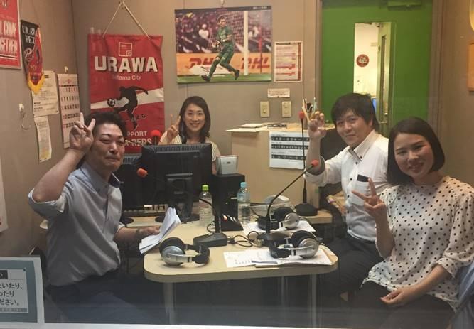 さいたま市のラジオ放送局に出演してきました!