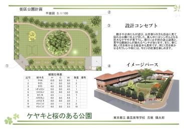 入選:東京都立農芸高等学校 緑地環境科 吉根陽太郎様