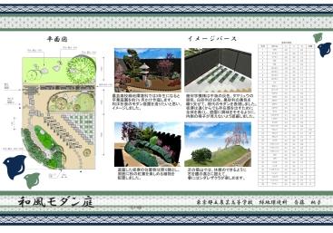 入選:東京都立農芸高等学校 緑地環境科 斎藤桃子様