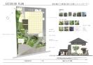 素材選びと植栽計画で実現したエコガーデン