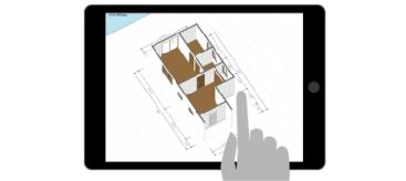 iPad住宅間取り3Dツール「SpeedPlanner スピードプランナー」