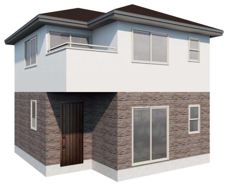 建物デザイナー完成画像