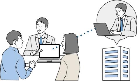 e-Boardでお悩み解決!「物件データの共有ができる」